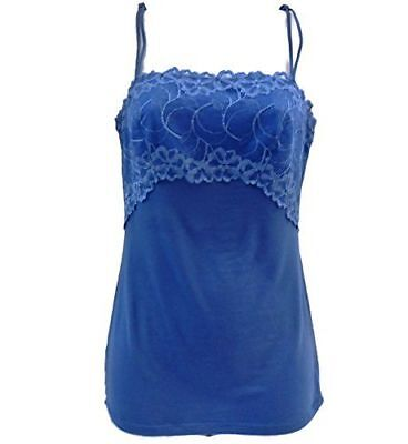 Felina Women's Charming Lace & Modal Camisole- 2 Pack SMALL NEW FREE SHIPPING