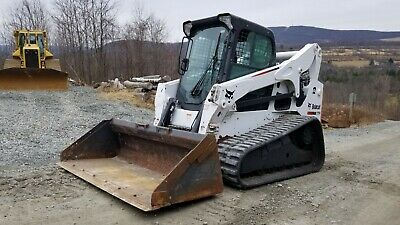 2014 Bobcat A770 Skid Steer Fully Loaded High Flow Two Speed A/c Kubota Diesel!