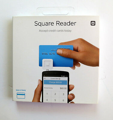 Square Credit Debit Card Reader for Apple iPhone, iPad and Android White, NIP