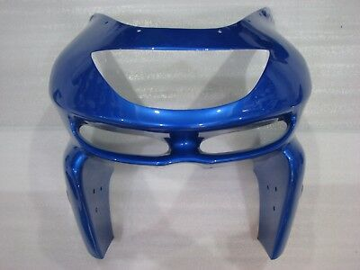 Front cowl nose Plastic fairing for KAWASAKI NINJA ZX9R ZX 9R 1998 1999 ABS Blue