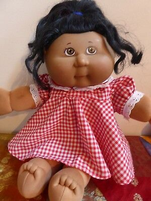 Vintage Play Along Hong Kong African American Cabbage Patch Kid Doll #1