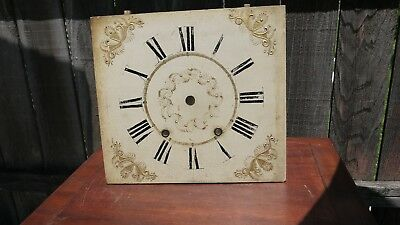 jerome and darrow 8 day weight driven wooden works dial super original