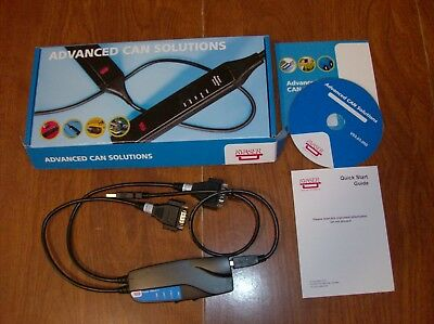 Kvaser USBcan II HS/HS Interface EAN: 73-30130-00159-6 **NEW IN BOX**