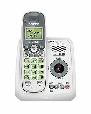 VTech CS6124 DECT 6.0 Cordless Phone with Answering System and Caller ID/Call...