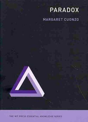 Paradox by Margaret Cuonzo 9780262525497 (Paperback, 2014)