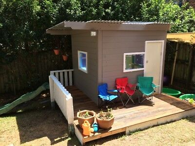 Cubby House -Large, Free-standing, Watertight Kids Cubby House