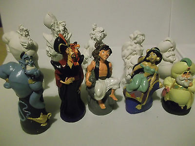 Disney Aladdin paint your own figures  jasmine sultan jafar aladdin genie