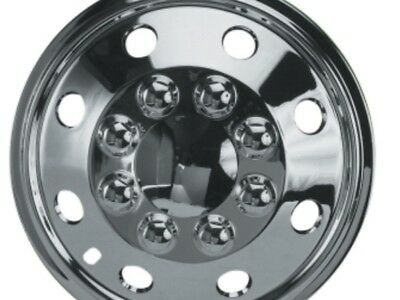 "15"" Iveco Daily Motorhome Camper Vans Chrome Deep Dish Wheel Trims Hub Caps"