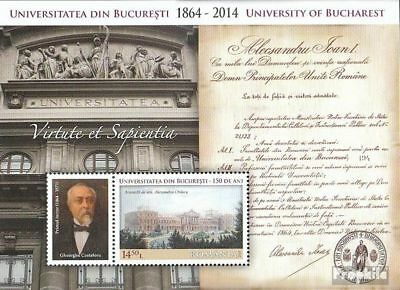 Romania Block598 (complete.issue.) unmounted mint / never hinged 2014 150 years