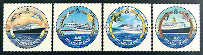 2001 Pitcairn Islands Stamps - Cruise Ships - Set of 4 MNH