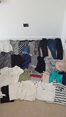 Maternity clothes bundle size 12 Topshop New Look Next Mothercare 28 items