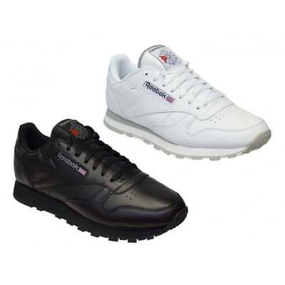 Reebok Classic Leather Mens Trainers All Sizes in Various Colours