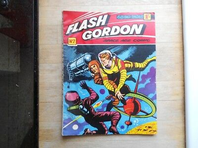 Flash Gordon comic No. 2 from 1959 - WDL, UK