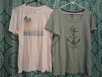 Life Is Good Women's XL Shirts, No Tags, Brand New, Never Worn, lot of 2