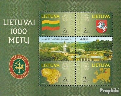 Lithuania block22 (complete.issue.) unmounted mint / never hinged 2001 1000 year