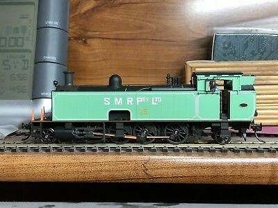 Southern Rail Models SMR 10 Class Steam Locomotive - SMR 25 Green Livery - BNIB