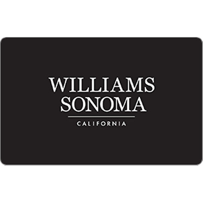 Williams-Sonoma Gift Card $100 Value, Only $95.00! Free Shipping!