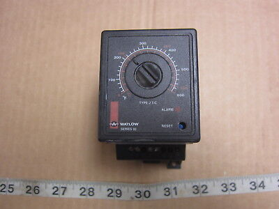 Watlow Controls 92A3-1DJ1-0000 Temperature Controller Switch, Used