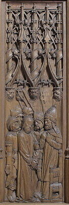 ":Panel with Christ Before the High Priest early 16th century-16x12""(A3) Poster"