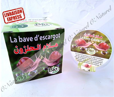Bave d'Escargot Gel BIO 80ml 100% Bave d'Escargot Snail Slime, Baba de Caracol