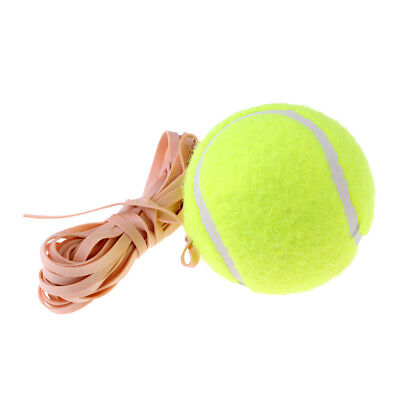 Tennis Training Ball with Elastic Rope Replacement for Self-study Beginners