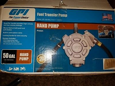 GPI HP-100C-2TC  Hand Pump Piston Part# 114000-11 Heavy Duty *Free Shipping*