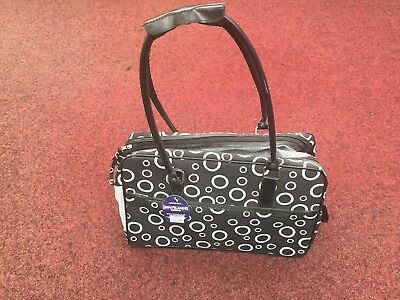 Ancol Simply Glamour Black And White Pet Carrier