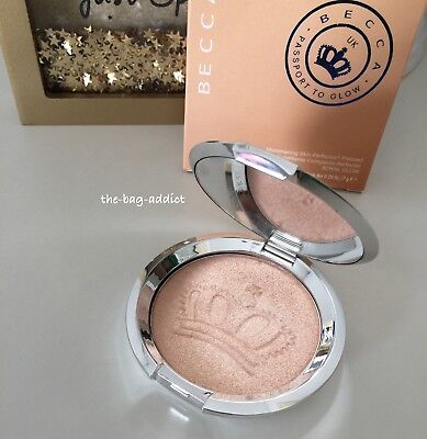 Auth! BECCA Shimmering Skin Perfector Pressed Highlighter ROYAL GLOW Limited Ed