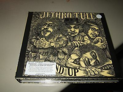 Jethro Tull : Stand Up Deluxe Pop Up Edition 2Cd+Dvd Box 2010 Chrysalis Eu
