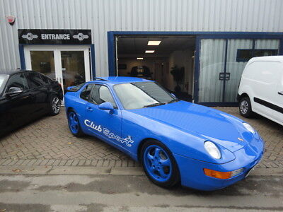 Porsche 968 Club Sport 1993 Maritime Blue C16 Car