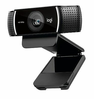 Logitech C922 Pro Stream Webcam, Full HD 1080p Streaming with Tripod and Free...