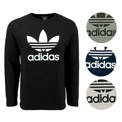 adidas Men's Originals Trefoil Crew Sweatshirt