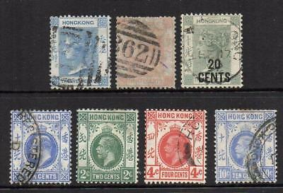 Hong Kong  Group of 7 as shown All Sound quality & collectable  No Hidden Faults