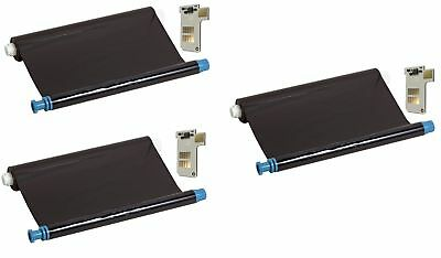 3x Compatible inkfilm faxfilm replaces Philips PFA351 with Chip Magic 5