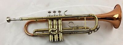 1958 Conn Director Trumpet  Coprion bell  good cond. with  case Made in the USA