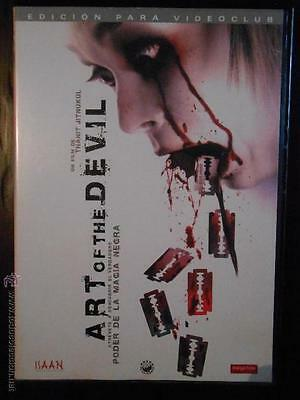 Dvd Art Of The Devil - Thanit Jitnukul - Edición De Alquiler (6G)
