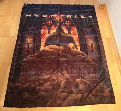 Hypocrisy große Flagge Fahne 1,45x0,97m Dismember Entombed Dismember Dissection