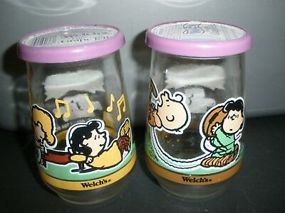Welch's Grape Jelly Jars Peanuts Classic Comic Kick Off, Play Along # 4 And 5