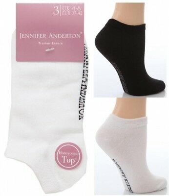 Jennifer Anderton Ladies Designer Cotton Trainer Socks