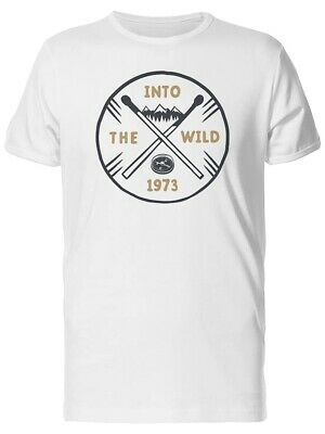 Into The Wild, Adventure Quote Men's Tee -Image by Shutterstock