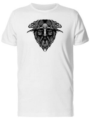Ancient Old Viking Head Men's Tee -Image by Shutterstock
