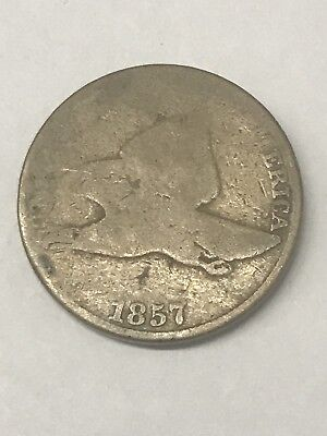 1857 Flying Eagle Cent Nice