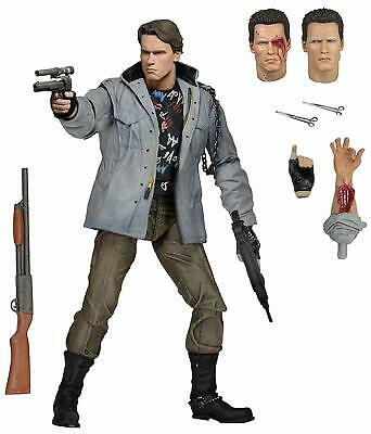NECA Terminator Scale Ultimate T800 Arnold Tech Noir 7in. Action Figure