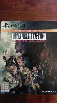 Final Fantasy XII: The Zodiac Age -- Limited SteelBook Edition (Sony PlayStation