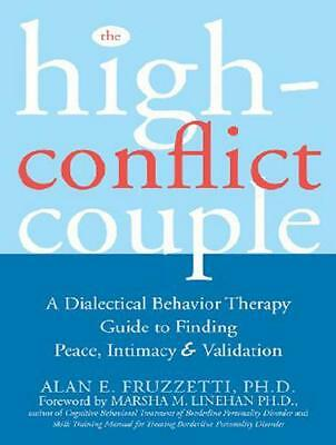 The High-Conflict Couple by Alan E. Fruzzetti, Vanessa Daniels (narrator)