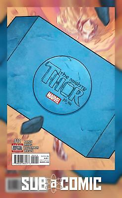 MIGHTY THOR #12 (Marvel 2016 1st Print)