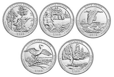 National Park Quarter 2018 D & P Mint