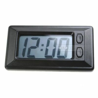 Digital Dashboard Clock And Calendar, Includes Adhesive