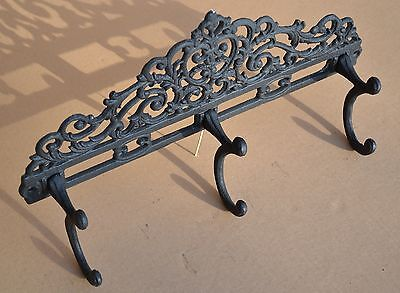 Victorian Stylish Antique Style Trunk Coathook Cast Iron Coat Hook - Lg105