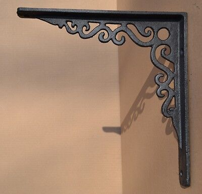 Industrial Style Cast Iron Gallows Brackets Shelf Bracket Vintage Design - Lg113